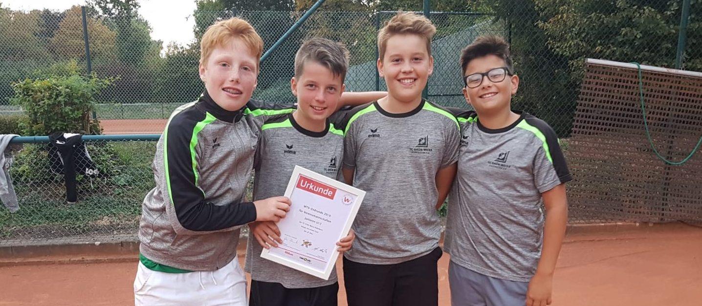 U12 Junioren: 3. PLATZ Westfalenmeisterschaften